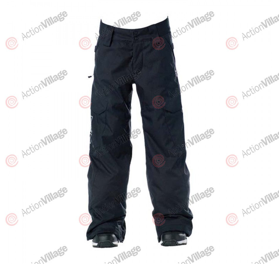 DC Banshee K 2011 -Kids Snowboarding Pants - Black - Youth Extra Large