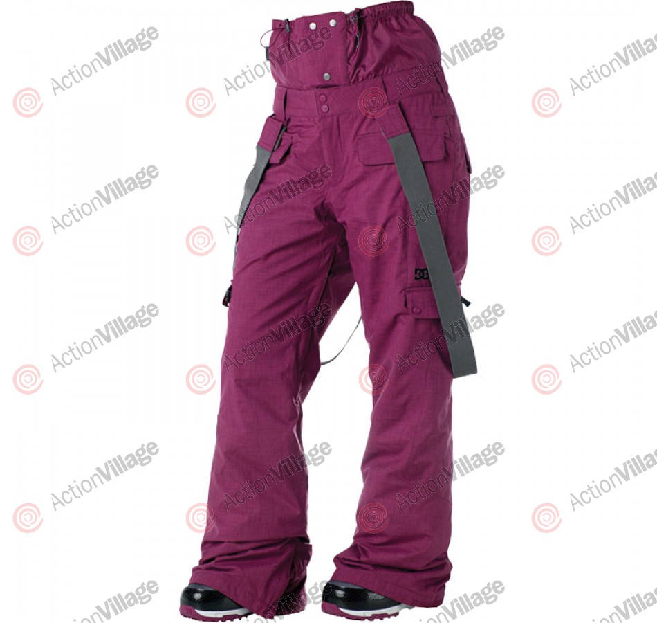 DC Martock 2011 - Women's Snowboarding Pants - Boysenberry