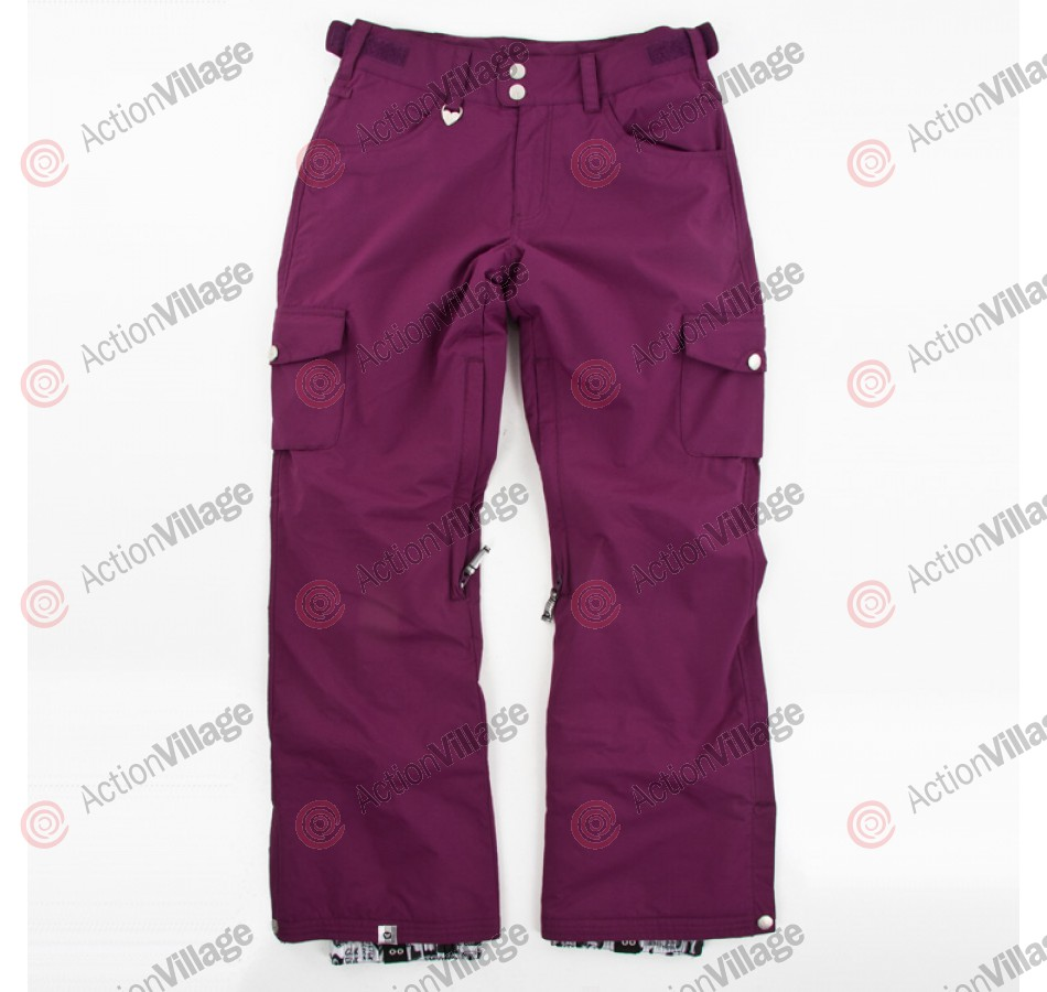 Roxy Toboggan - Women's Snowboarrding Pants - Berry - Medium