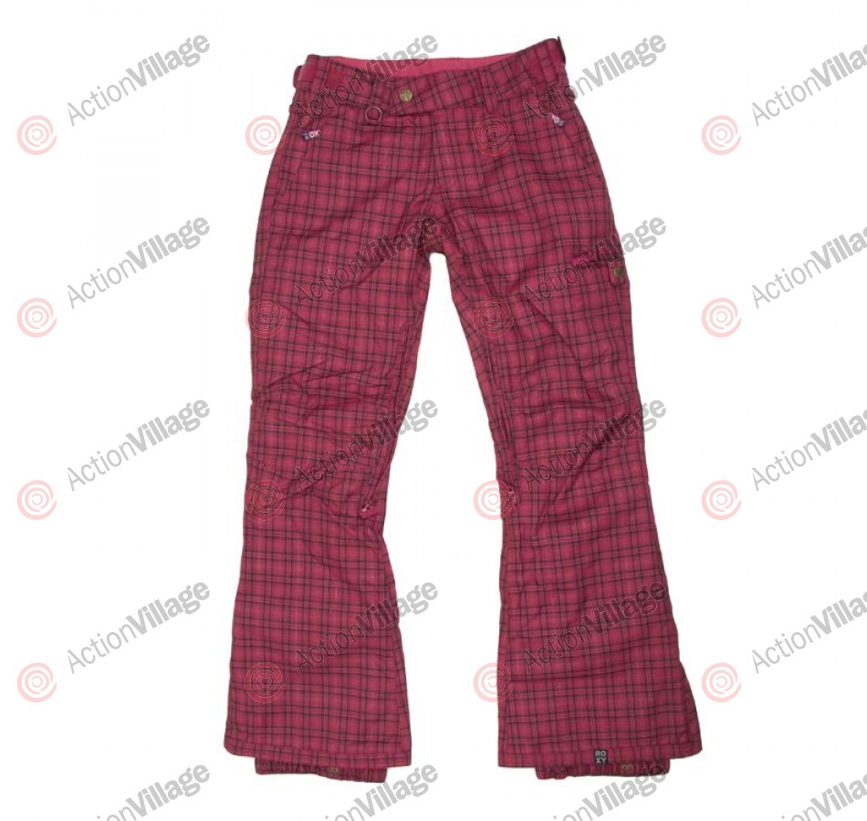 Roxy Energy  - Women's Snowboarding Pants - Plaid - X Small