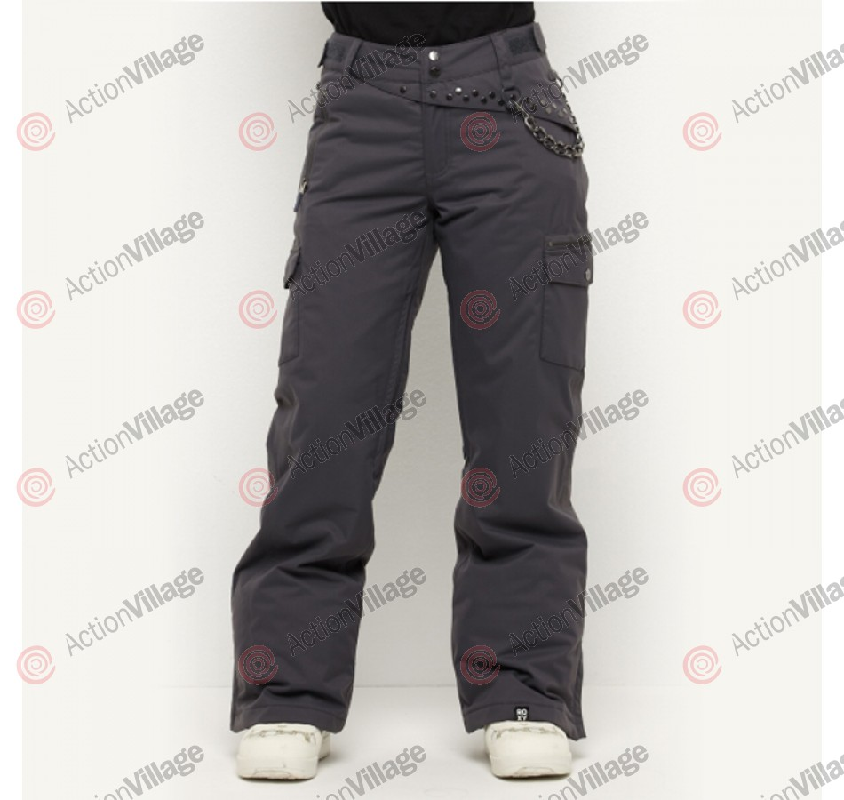 Roxy Sarah Burke - Women's Snowboarding Pants - Dark Grey