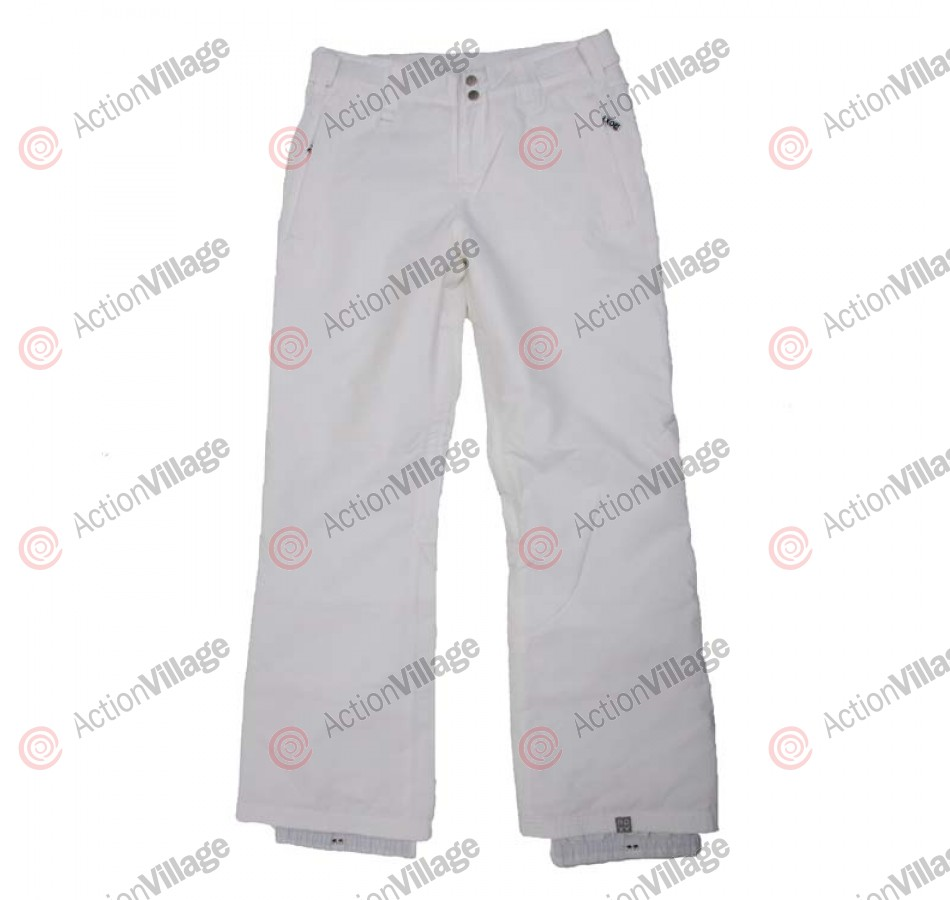 Roxy She's Got It - Women's Snowboarding Pants -Bright White - Medium