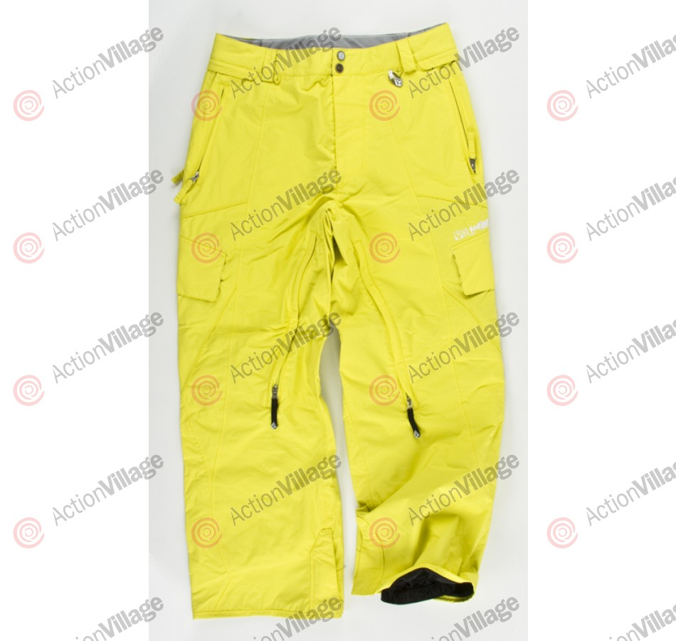 Volcom Tone 2010 - Men's Snowboarding Pants - Lime