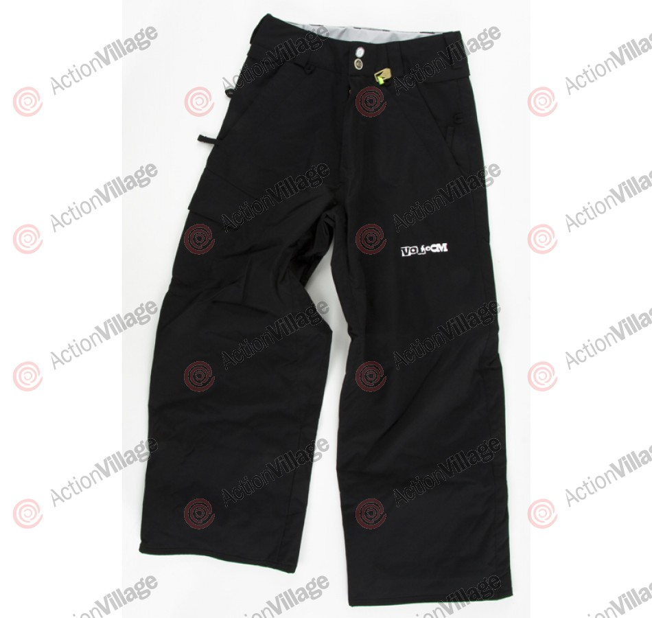 Volcom Leaded 2010 - Men's Snowboarding Pants - Black