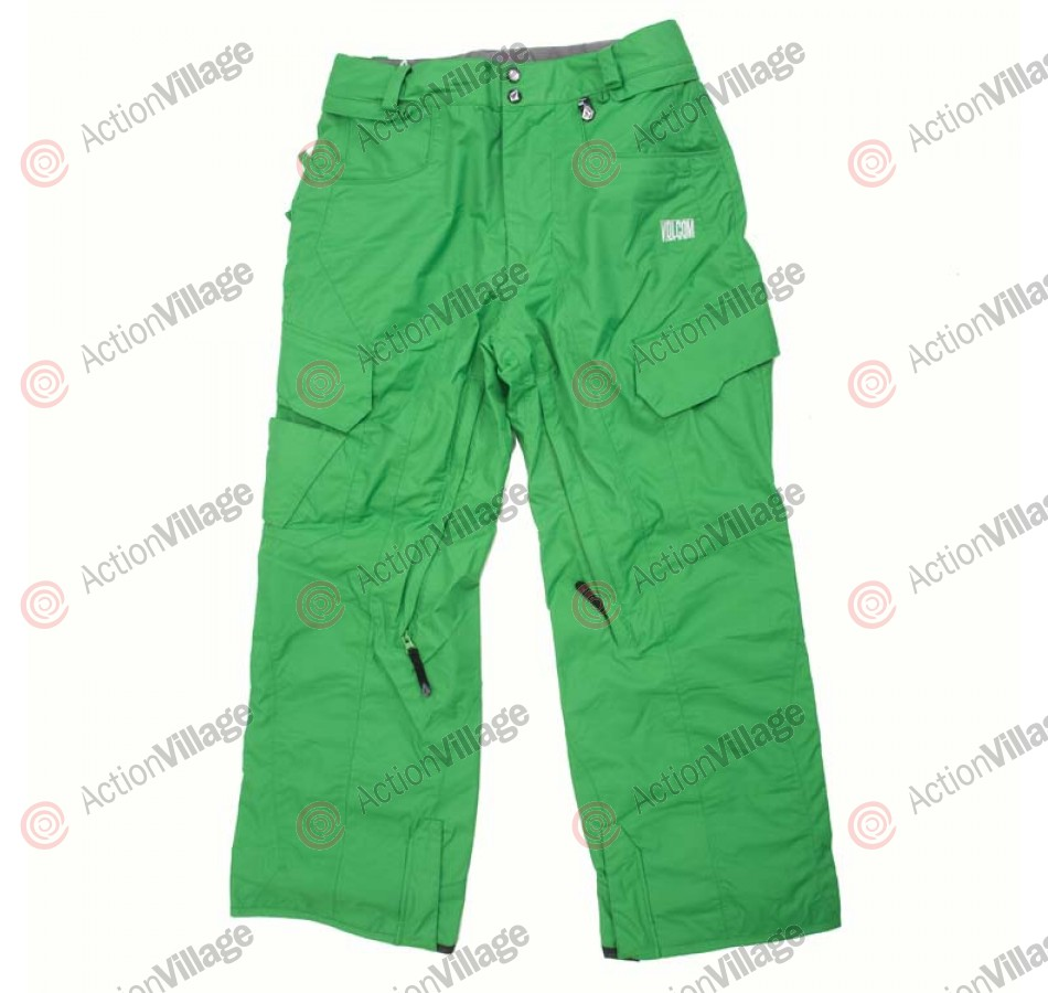 Volcom Throttle 2011 - Men's Snowboarding Pants - Green