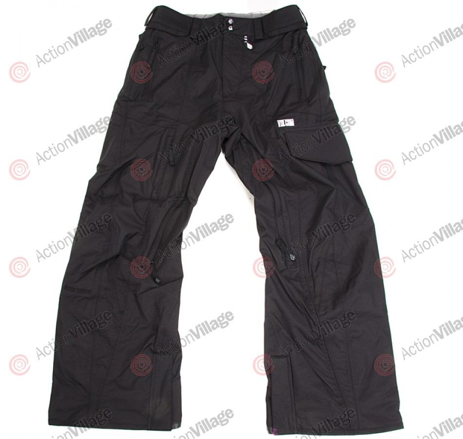 Volcom Straight Leg 2011 - Men's Snowboarding Pants - Black