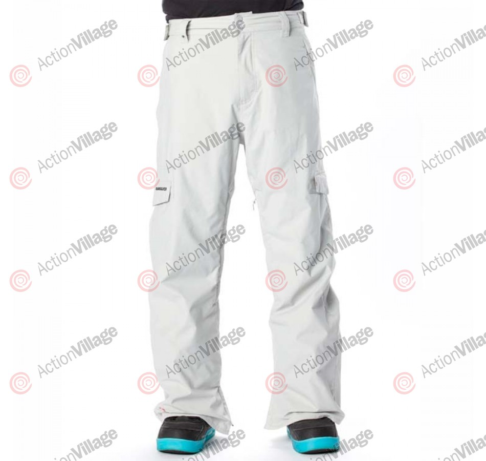 Quiksilver Drill Shell - Men's Snowboarding Pants - Light Grey