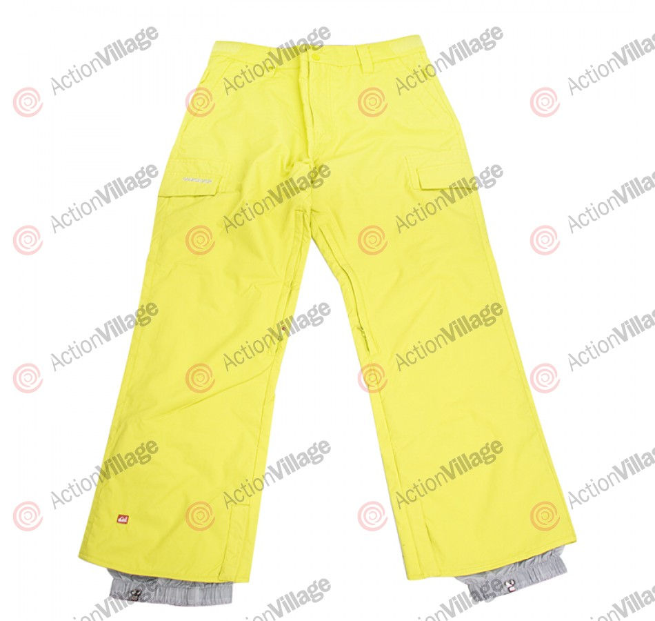 Quiksilver Drill Shell - Men's Snowboarding Pants - Yellow