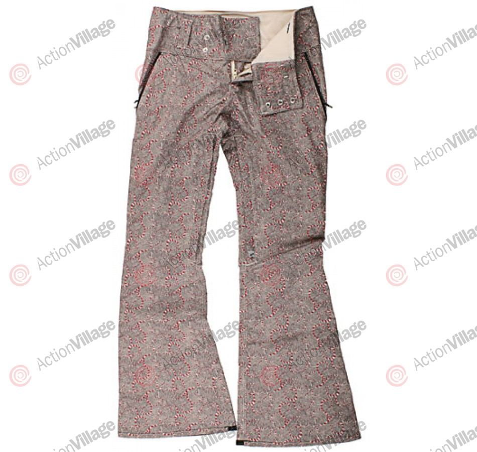 Holden Hazel - Men's Snowboarding Pants - Canvas Etch Print - Small
