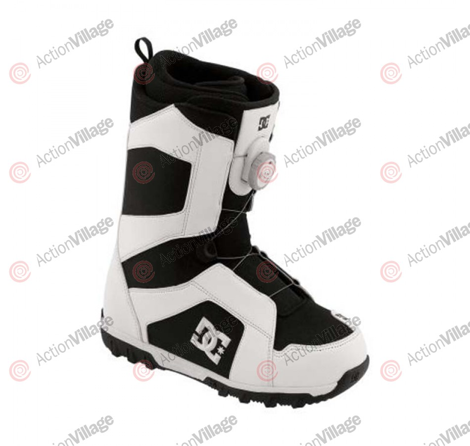 DC Scout 2011 - Men's White / Black Snowboard Boots