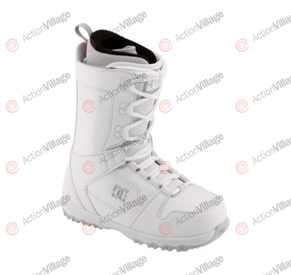 DC Phase 2011 - Women's White / Light Grey Snowboard Boots