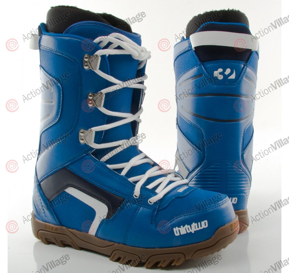 ThirtyTwo Prion 2010 - Men's  Blue / White / Gum Snowboard Boots - Size 10
