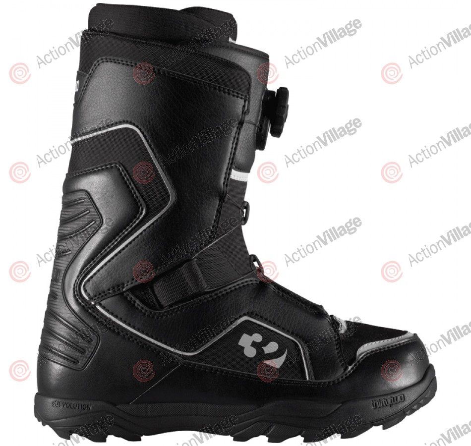 ThirtyTwo Lock Boa 2011 - Men's Black / White Snowboard Boots