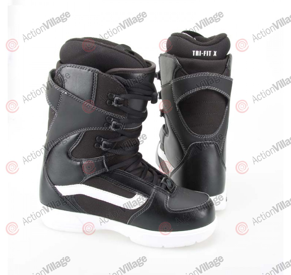 Vans Hi Standard 2011 - Men's Black / Mathes Snowboard Boots