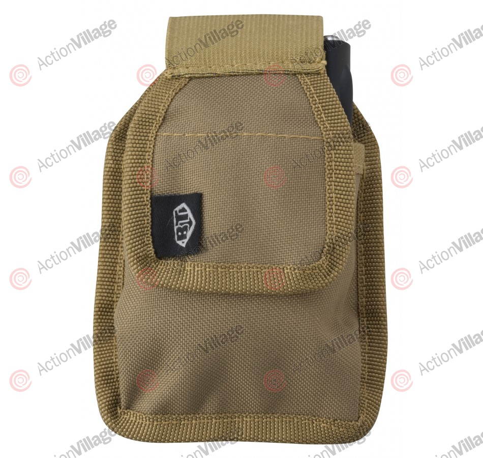 BT Radio Pouch Paintball Harness - Tan