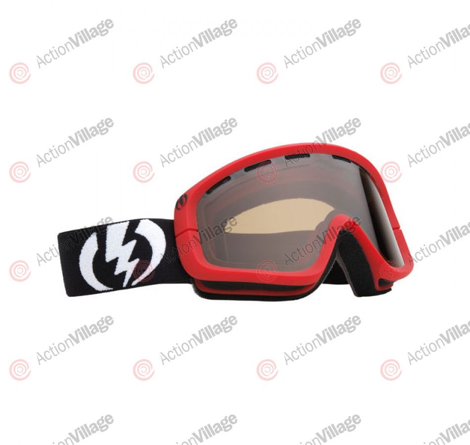 Electric EGB 2011 - Red Frame / Bronze Lens - Snowboard Goggles