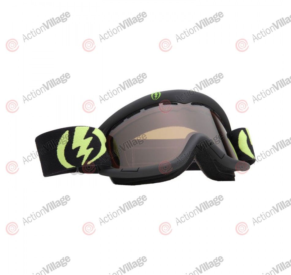 Electric EG1K 2011 - Gloss Black Frame / Bronze Lens - Snowboard Goggles - Youth
