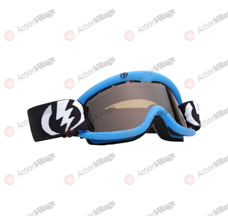Electric EG1K 2011 - Cyan Frame / Bronze Lens - Snowboard Goggles - Youth