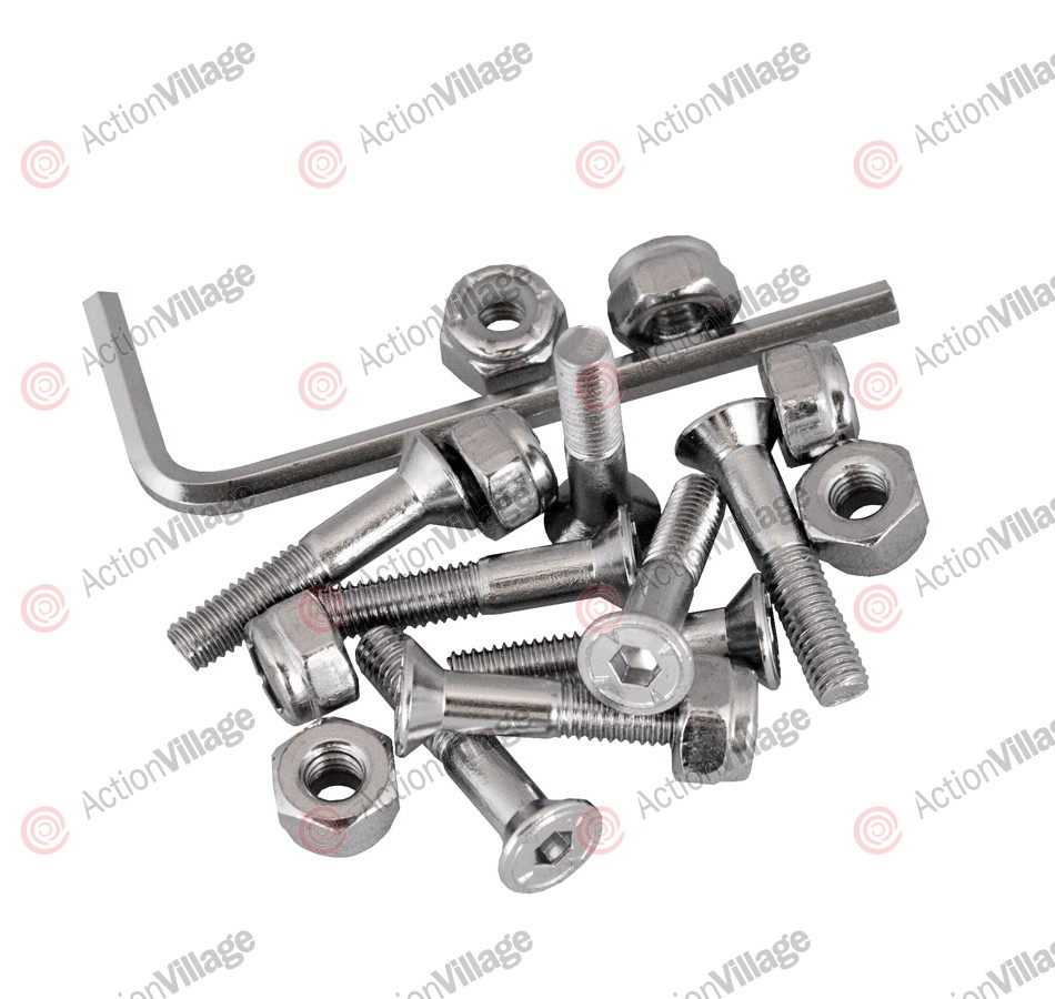 Independent Genuine Parts Allen Hardware 1in Silver - Skateboard Mounting Hardware