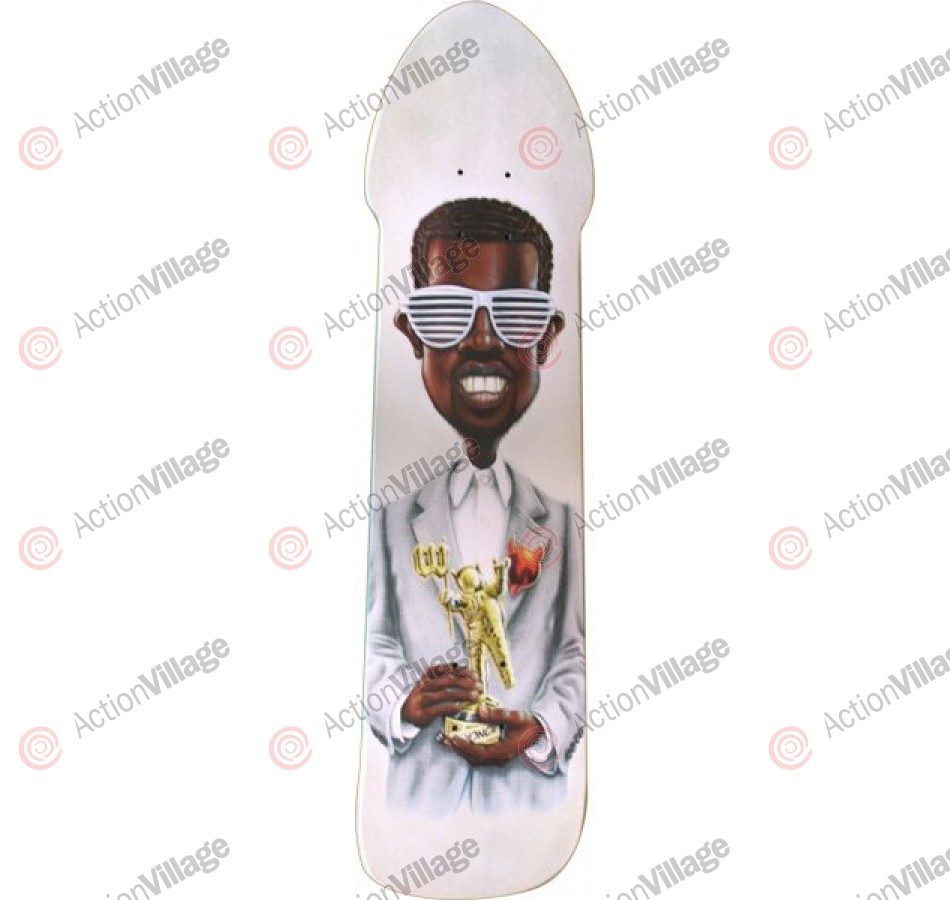 World Industries Mr West - White - 7.9 - Skateboard Deck