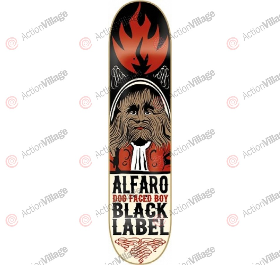 Black Label Adam Alfaro Freak Show - Black - 8.0 - Skateboard Deck