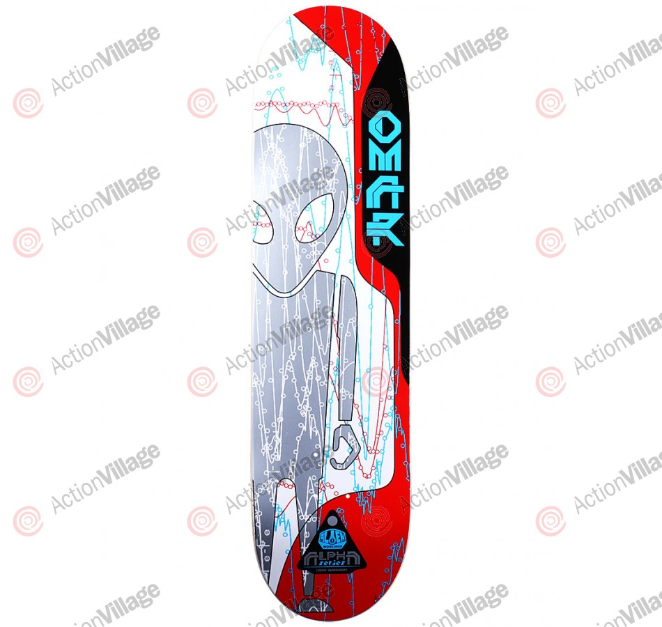 Alien Workshop Salazar Alpha - White/Red - 8.125 - Skateboard Deck