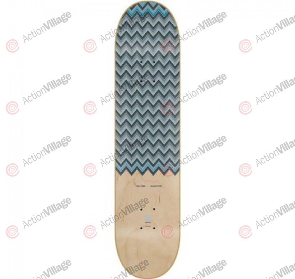 Alien Workshop D Pitre Feel Free - Blue - Skateboard Deck