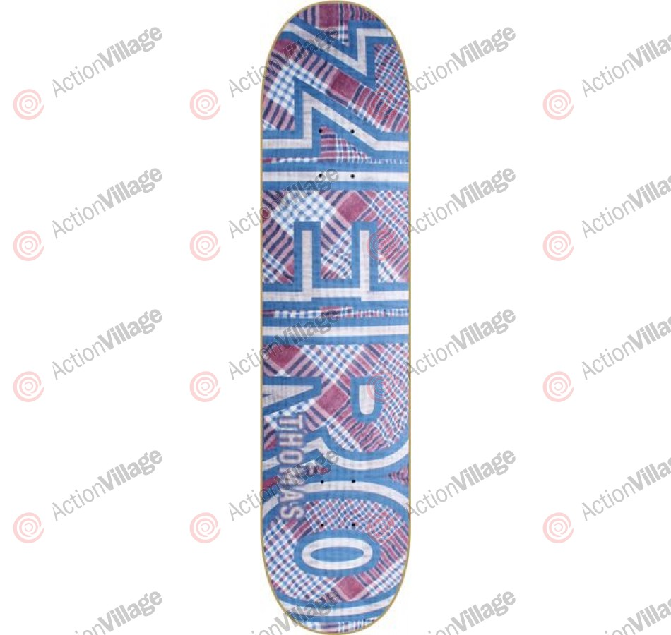 Zero Thomas Overkill Bold - White/Blue - 7.87 - Skateboard Deck