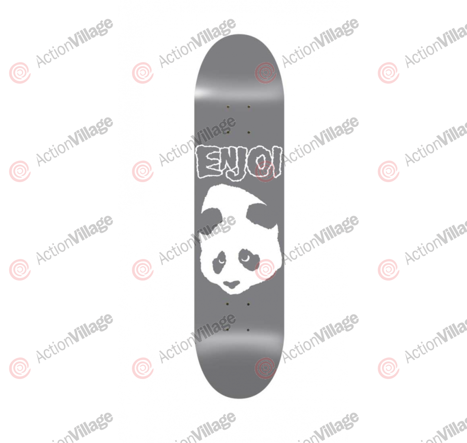 Enjoi Doesn't Fit R7 - Grey - 8.5 - Skateboard Deck