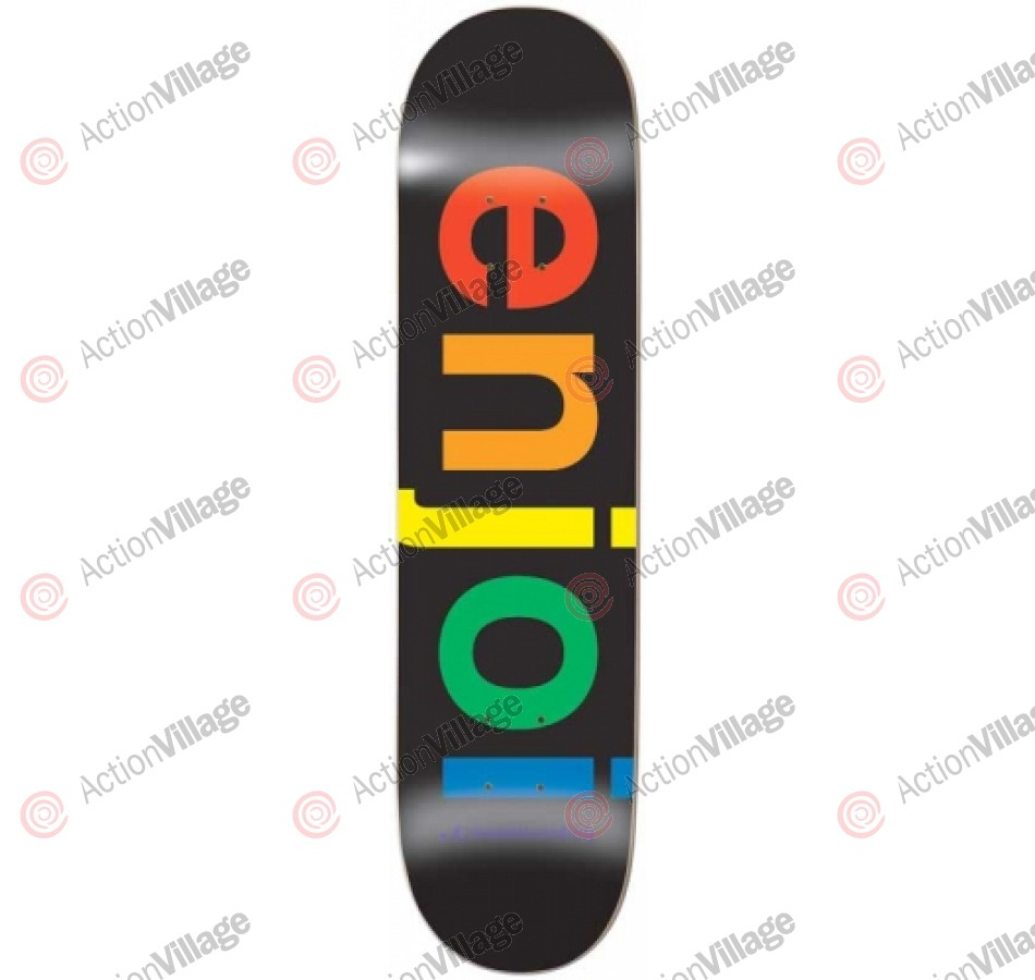 Enjoi Spectrum R7 - Black - 8.0 - Skateboard Deck