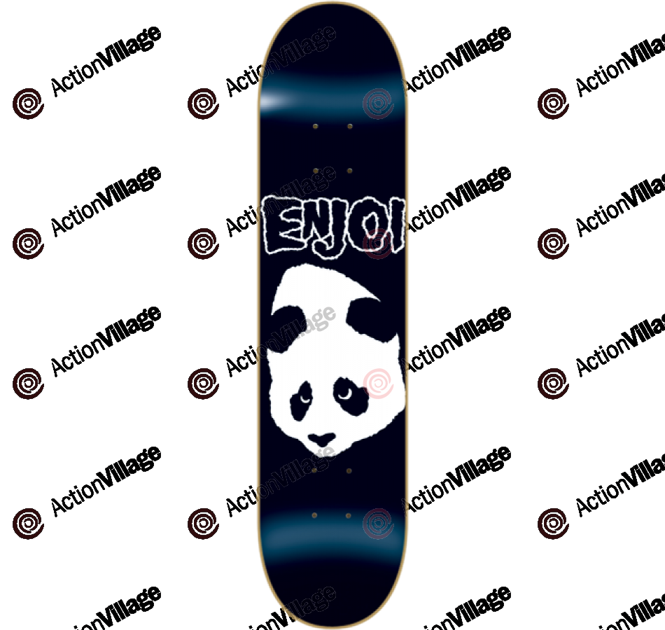 Enjoi Doesn't Fit R7 - Black - 8.0 - Skateboard Deck