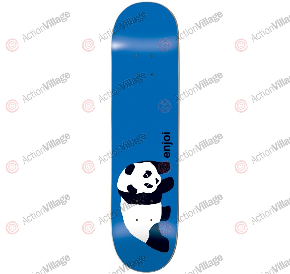 Enjoi Original Panda R7 - Blue - 8.1 - Skateboard Deck