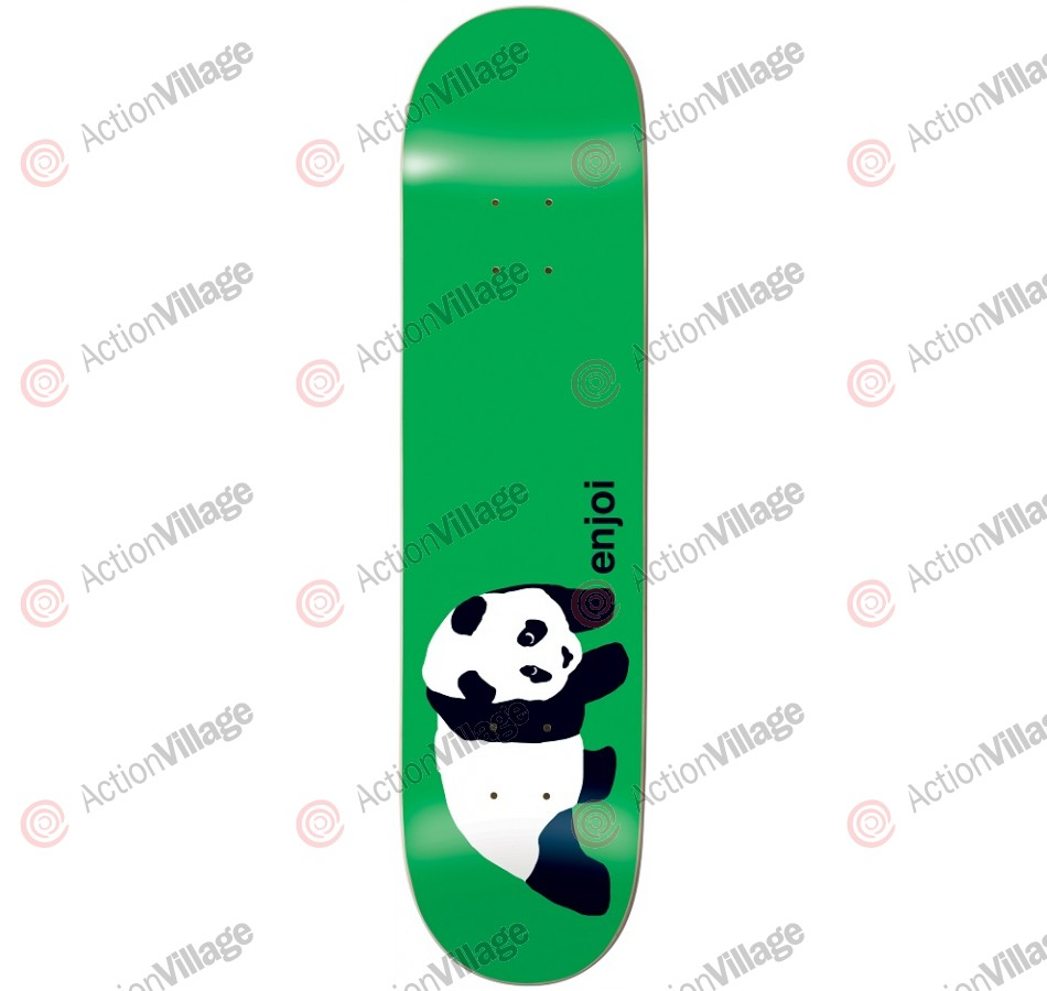 Enjoi Original Panda R7 - Green - 8.25 - Skateboard Deck