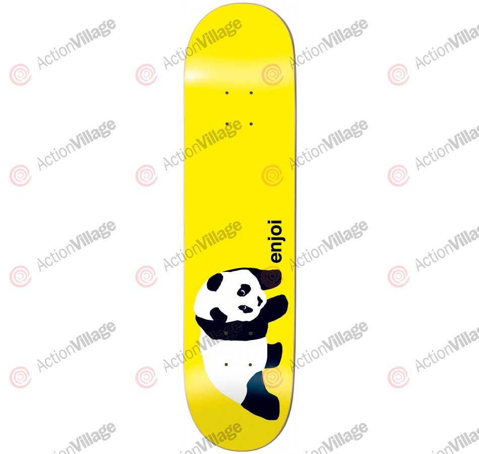 Enjoi Original Panda R7 - Yellow - 7.9 - Skateboard Deck