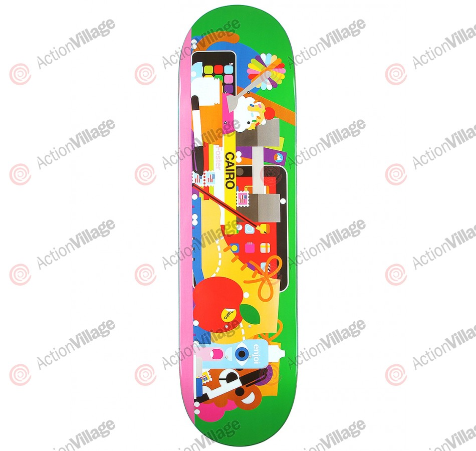 Enjoi Bless This Mess R7 - Cario Foster - 8.25 - Skateboard Deck
