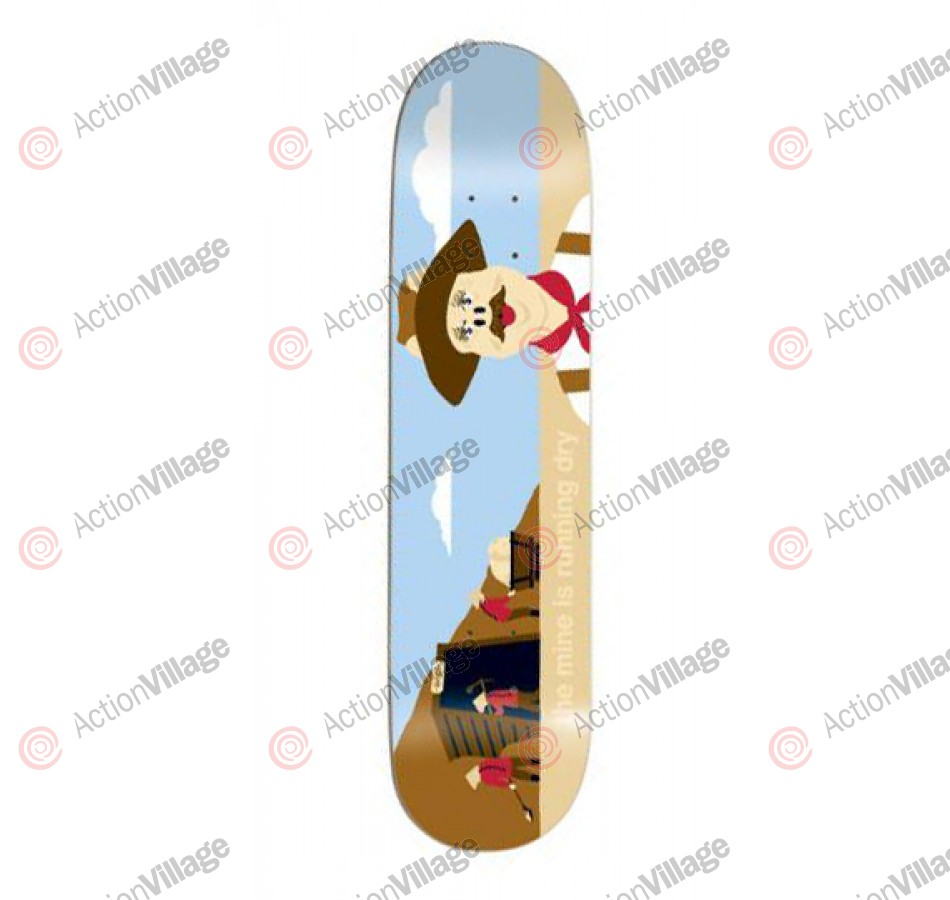 Enjoi Gold Mine - Brown/Blue - 7.9 - Skateboard Deck