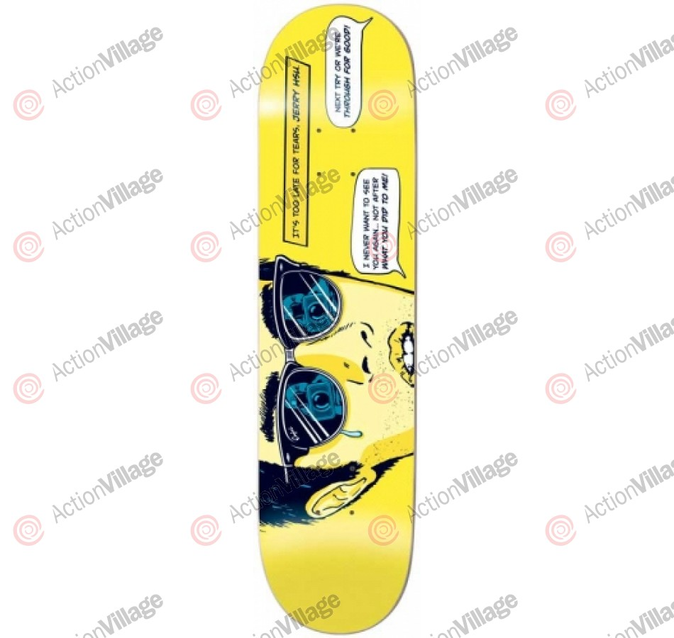Enjoi Next Try R7 Jerry Hsu - 8.25 - Skateboard Deck