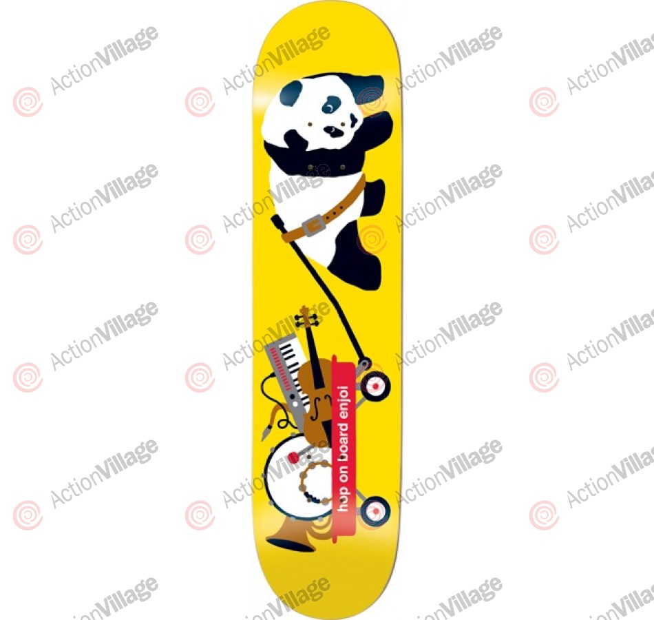 Enjoi Bandwagon R7 - Yellow - 7.9 - Skateboard Deck