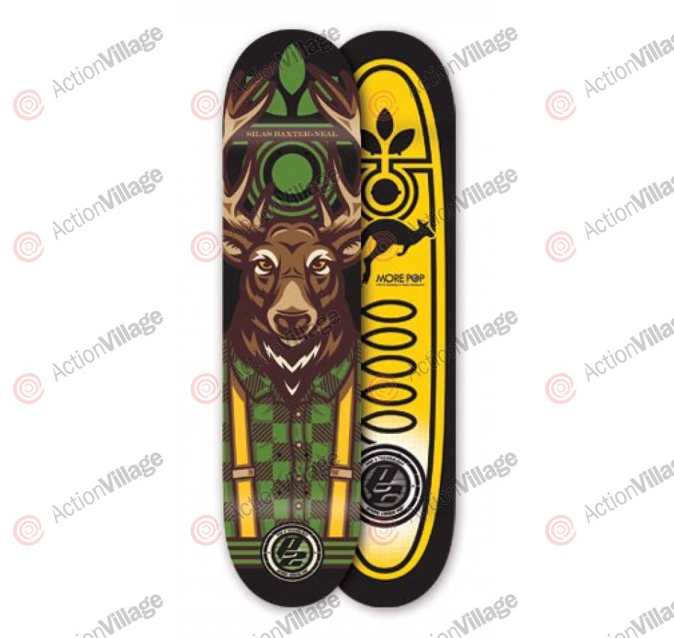 Habitat SB Manimal P2 - Brown/Green - 8 - Skateboard Deck