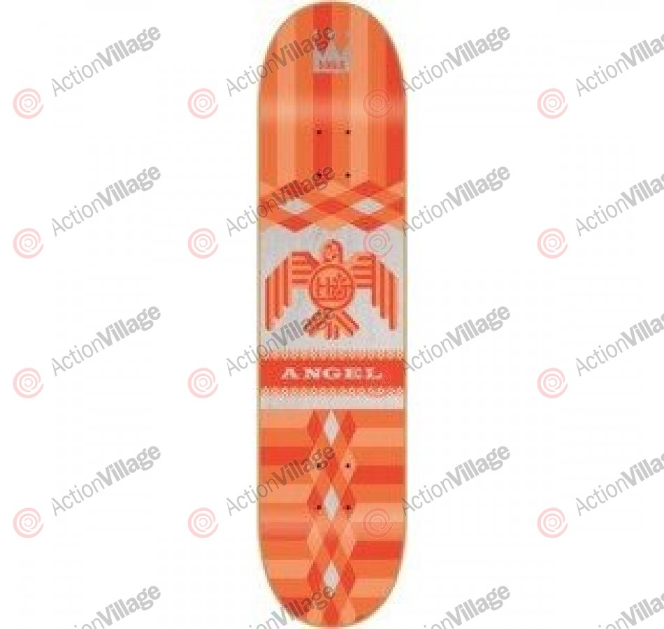 Habitat Raptor Series - Red - 7.878 - Skateboard Deck