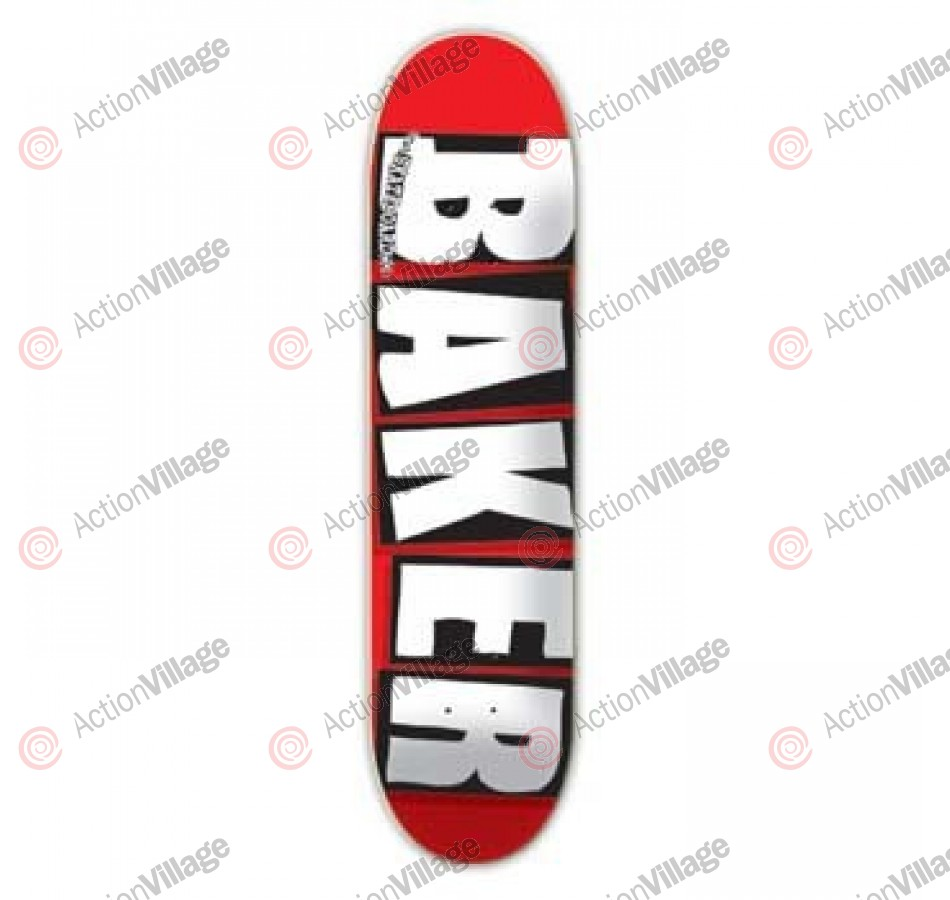 Baker Brand MD - White - 8.19 - Skateboard Deck