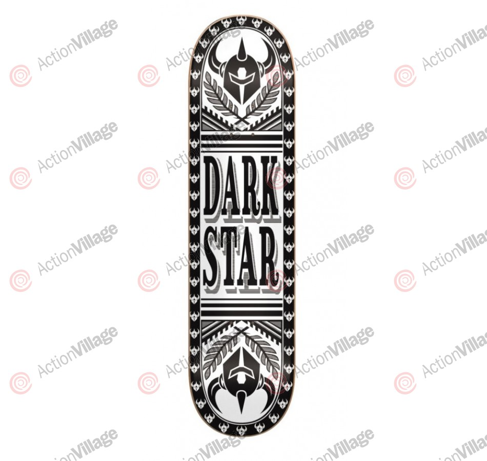 Darkstar Dealer SL - Black/White - 8.25 - Skateboard Deck
