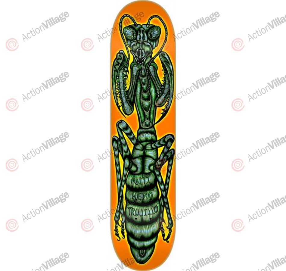 Anti-Hero Trujillo Antisect - Orange/Green - 8.38 - Skateboard Deck