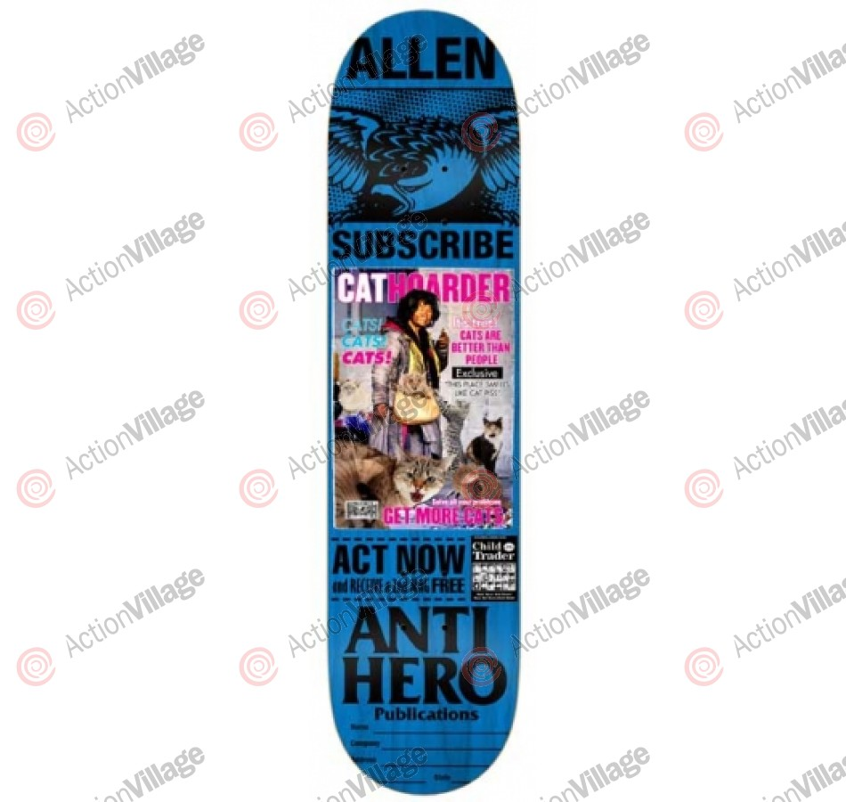 Anti-Hero Allen Issues - Blue - 8.06 - Skateboard Deck