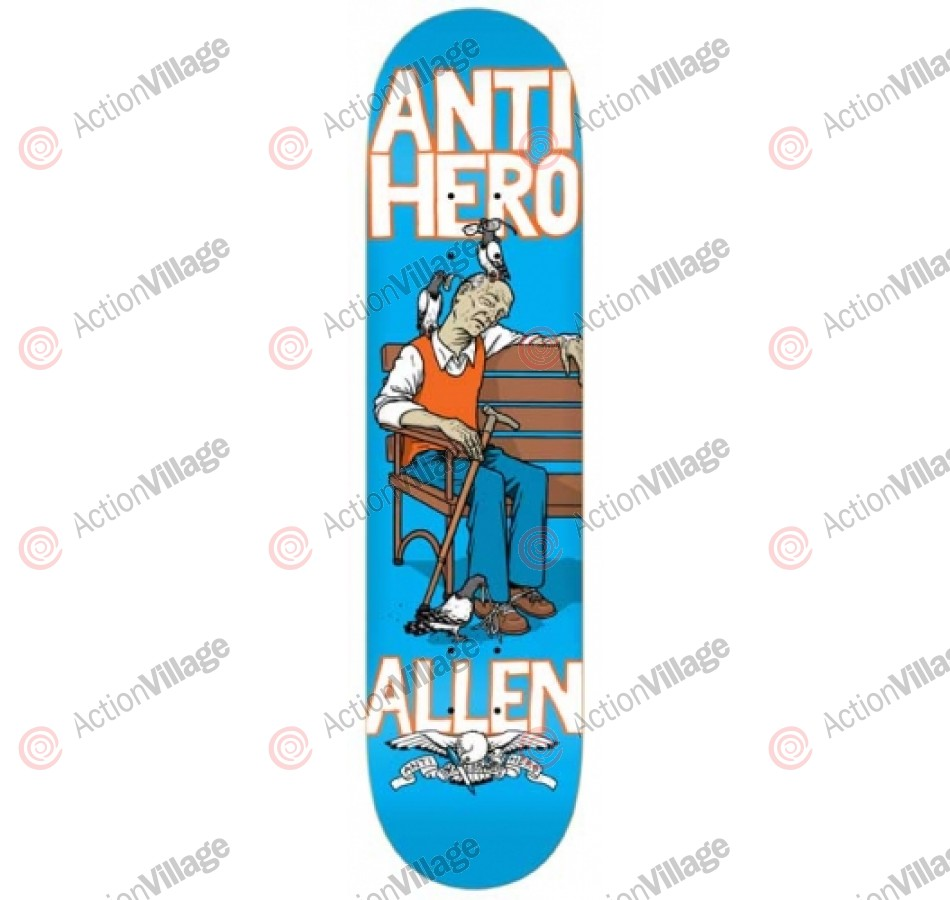 Anti-Hero Allen One Eye Open - Blue - 8.06 - Skateboard Deck