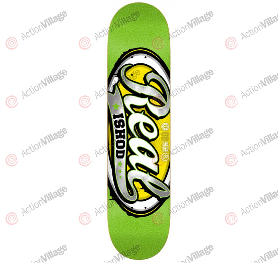 Real Wair Colorblast - Green - 8.02 - Skateboard Deck