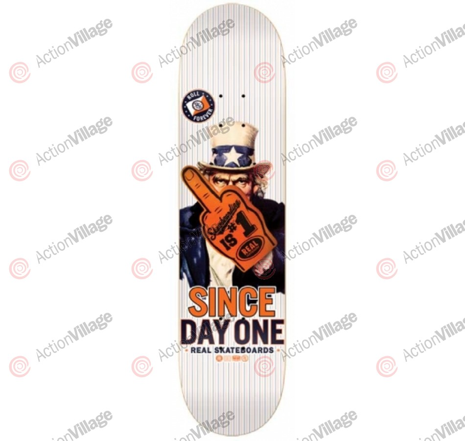 Real Enlist - White - 8.38 - Skateboard Deck