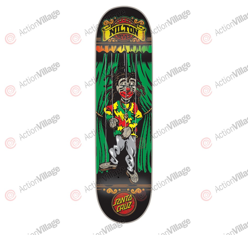 Santa Cruz Nilton Marionette Powerply 31.7 in 8.26 in - Skateboard Deck