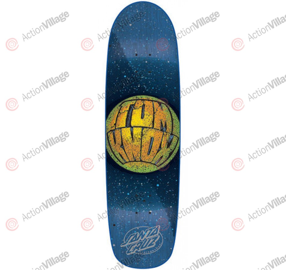 Santa Cruz Knox Planet - Blue - 32.5 x 9 - Skateboard Deck