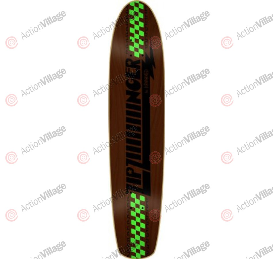 Krooked Long Board Zip ZIIIIIIiinger - 7.5x35.5 - Skateboard Deck